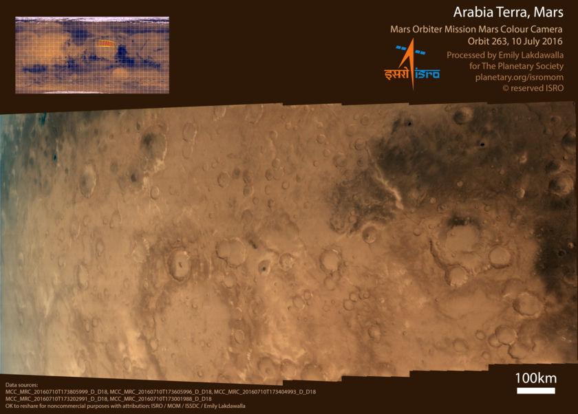 Arabia Terra, Mars