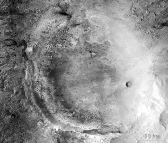 Jezero Crater, Mars