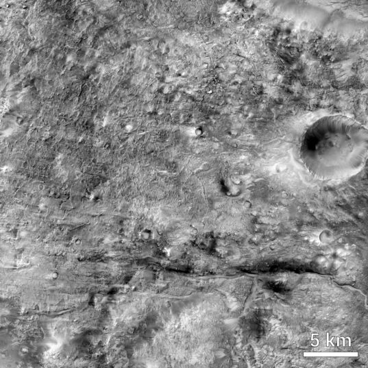 Northeast Syrtis Major, Mars