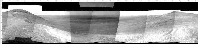 Navcam view, sol 4730