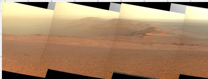 Opportunity Pancam panorama, sol 4669