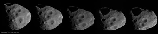 Phobos surface sequence from Mars Express