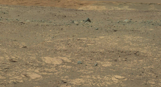 Bressay, an odd collection of rocks spotted on sol 2013