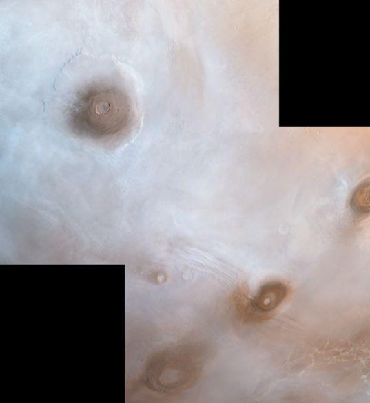 Viking Orbiter view of the northwestern Tharsis plateau