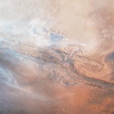 Viking Orbiter 1 - Valles Marineris