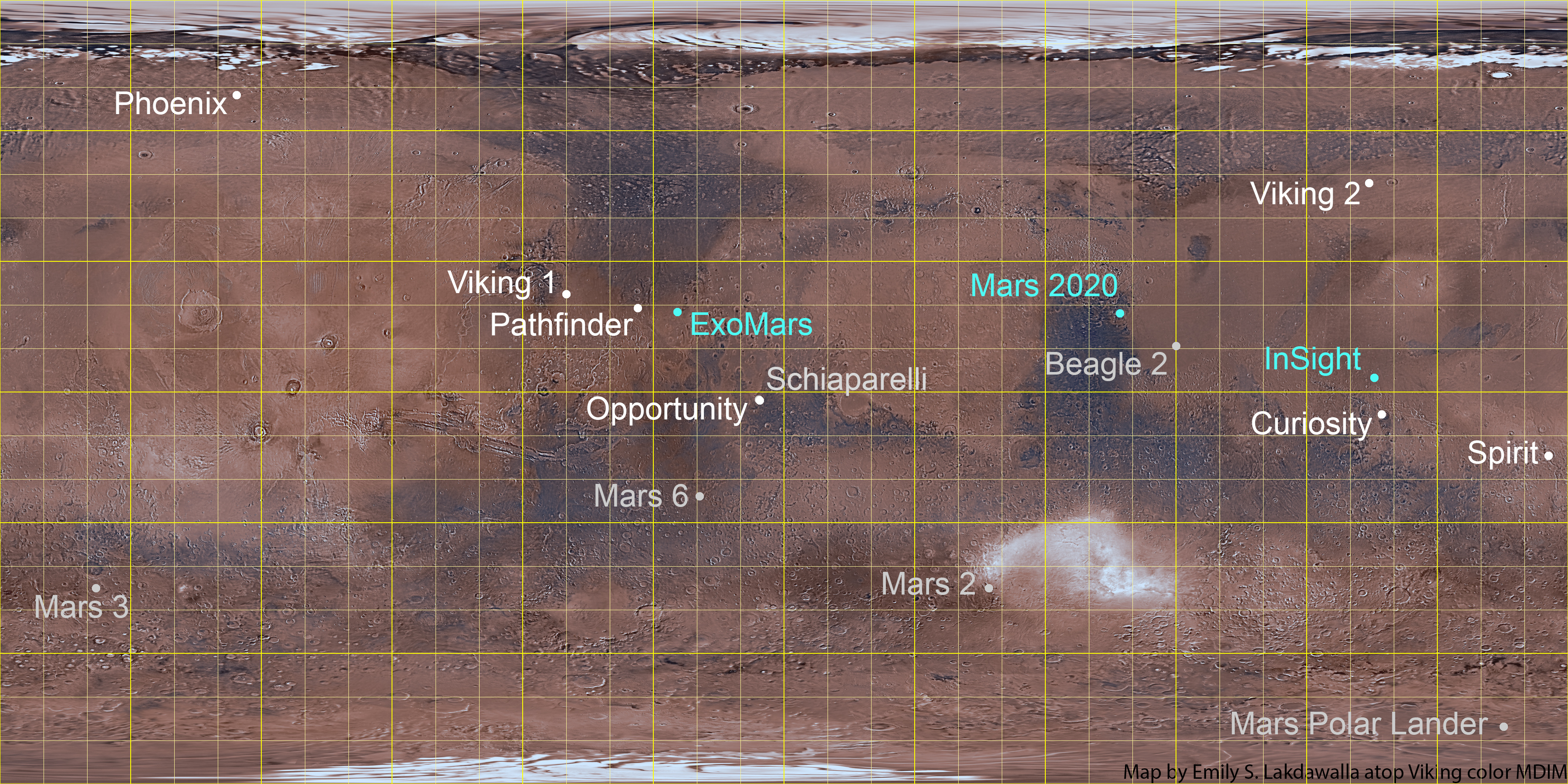 spacecraft map - photo #16