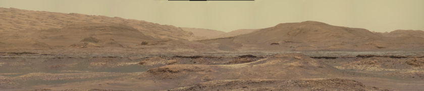 The view from Lake Orcadie, Curiosity sol 2247