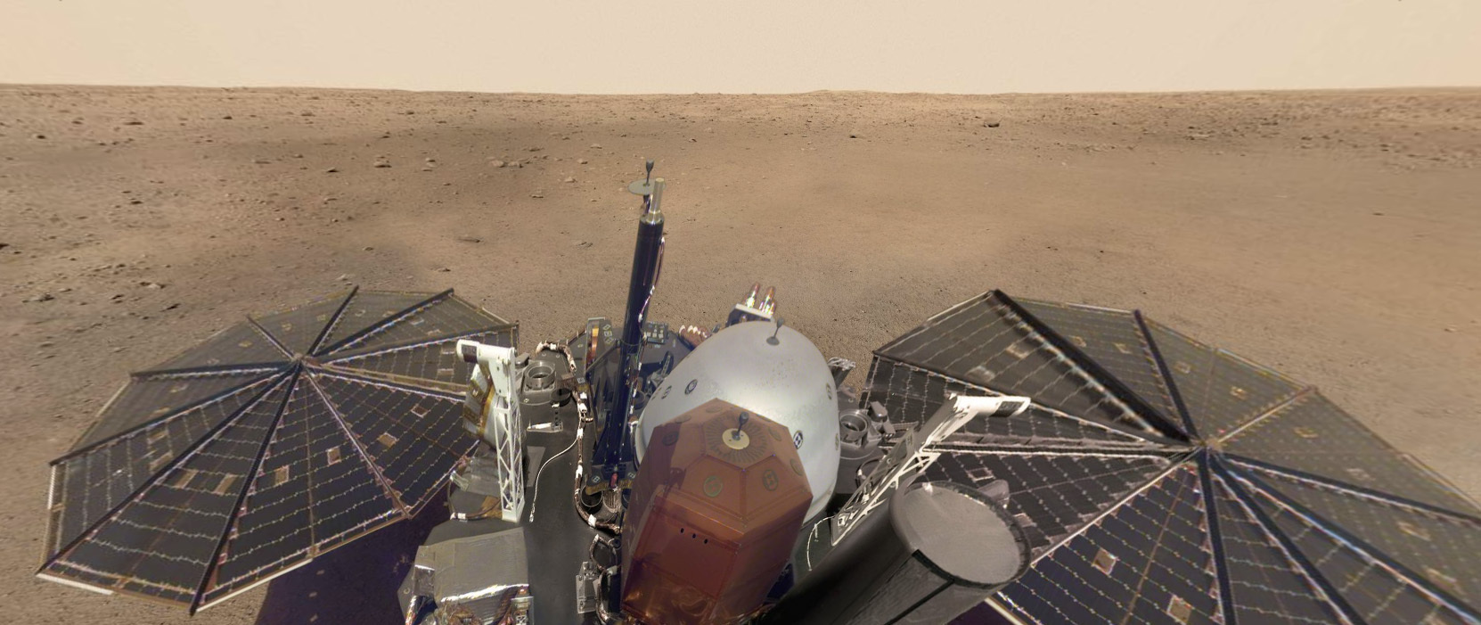 InSight's self-portrait as a virtual-reality panorama | The