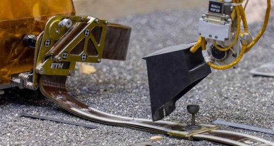 InSight tether pinning mass adjustment test