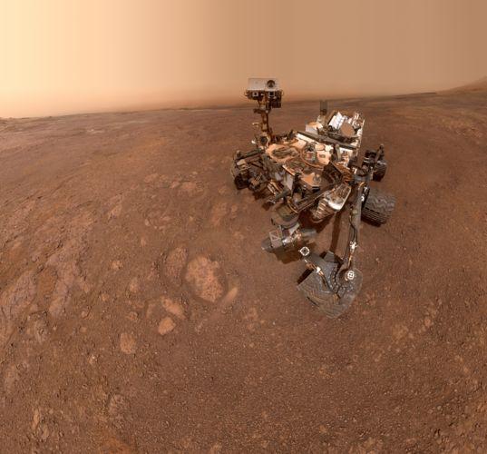 Curiosity self-portrait at Vera Rubin Ridge, sol 2291