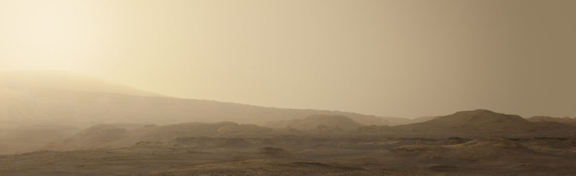 Curiosity's future route to Mount Sharp
