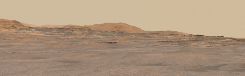 Foothills of Mount Sharp, Curiosity sol 2365