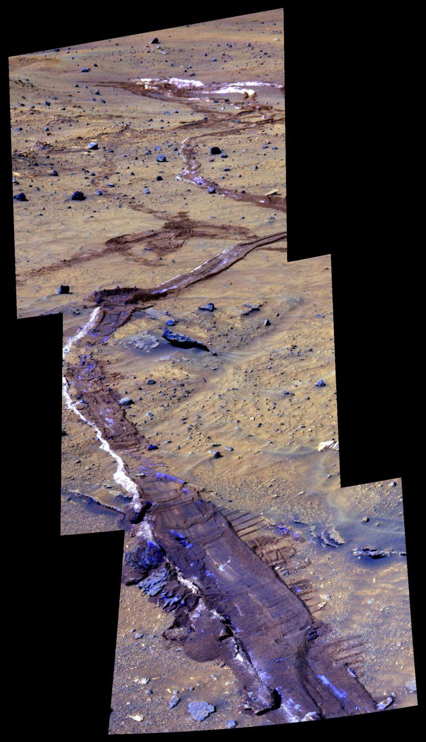 Silica Soils Near Home Plate, Spirit Sol 935