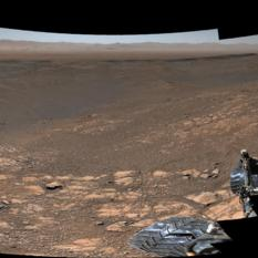 Gale Crater Panorama, late 2019