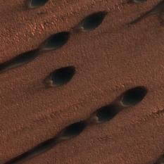 Martian sand dunes