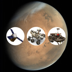 Mars 2020 fleet collage