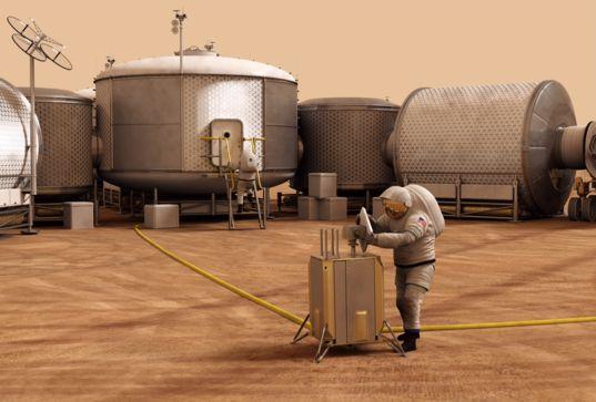 Mars habitat concept
