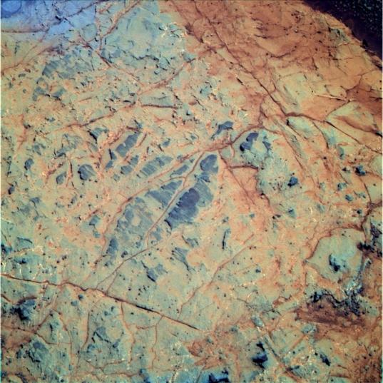 Pancam image of target