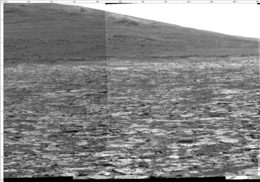 Sol 3385 Pancam view