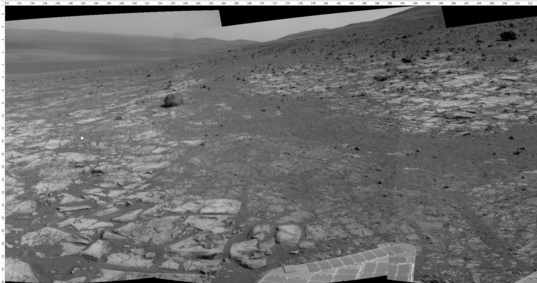 Opportunity sol 3397 Navcam view