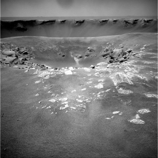 Sputnik crater, sol 1,661