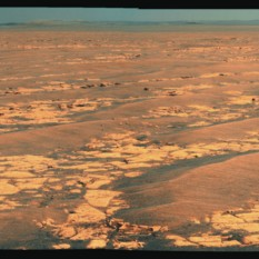 Opportunity's drive direction panorama, sol 2358 (11 September 2010)