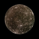Callisto in color, Galileo orbit C30