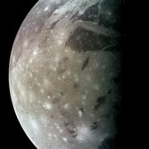 Ganymede in color from Galileo's C9 flyby
