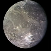 Ganymede in color from Voyager 2