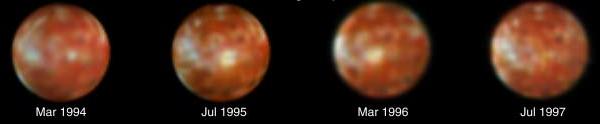 Eruption of Ra Patera, Io