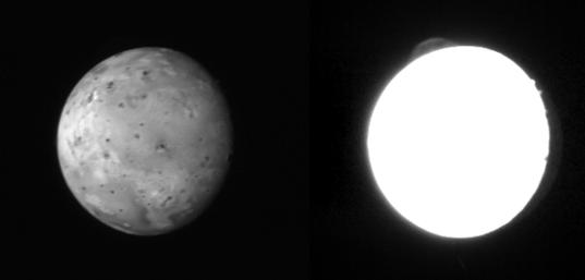 A plume on Io