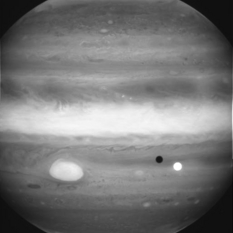 Jupiter Seen Through Methane Band Filter