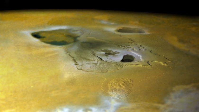 Tvashtar Paterae from Galileo Orbit I27
