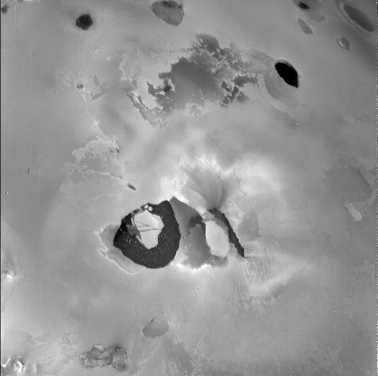 Loki Patera, Io, from Voyager