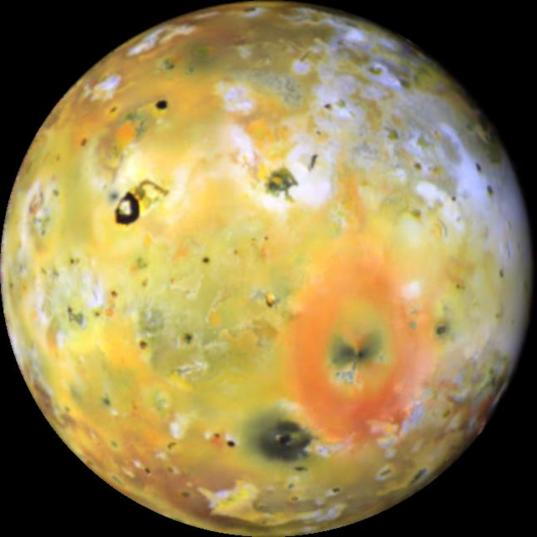 Io with Sulfur Dioxide Frost