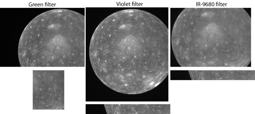 Data from Galileo's E11 global observation of Callisto