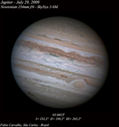 Jupiter by Fabio Carvalho, July 29, 2009