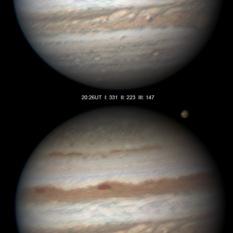 Jupiter on July 12, 2011 (with bonus Ganymede)