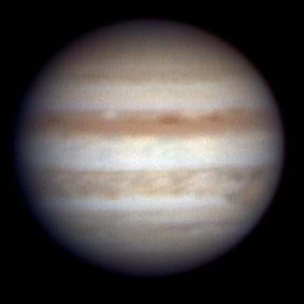 Jupiter on February 11, 2011