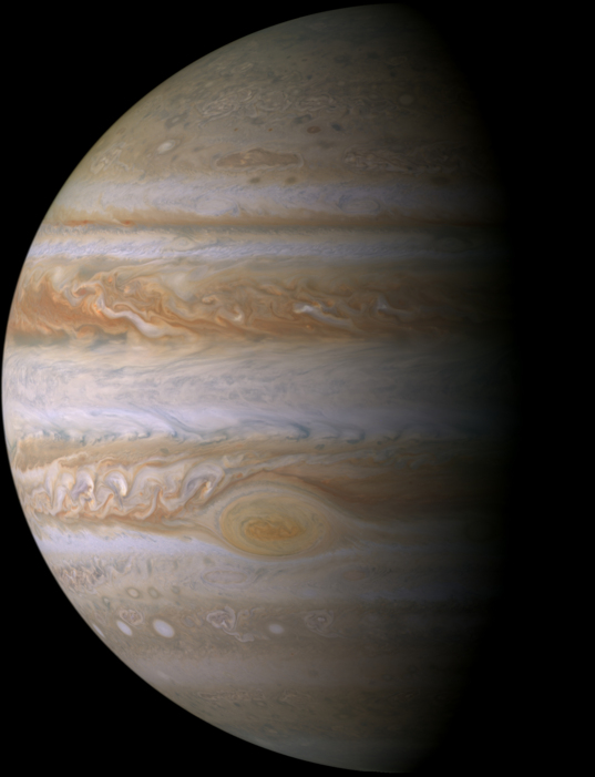 Jupiter from Cassini