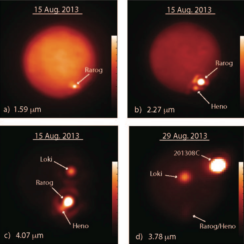 Volcanic eruptions on Io