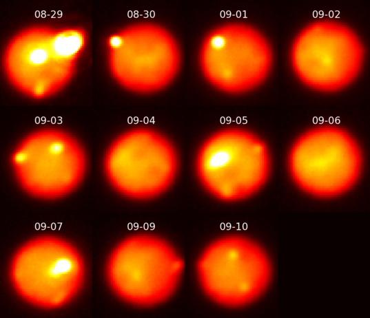 201308C eruption on Io