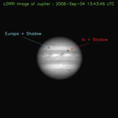 New Horizons' first image of Jupiter