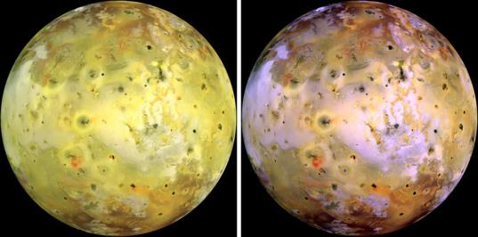 Colors on Io