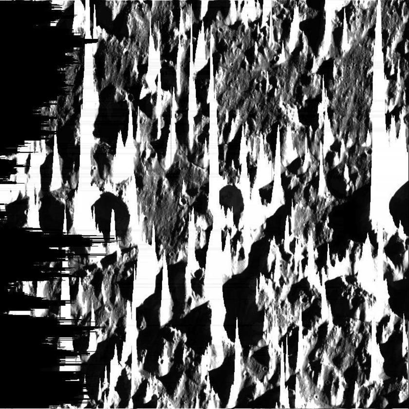 Strange Landscape on Ganymede