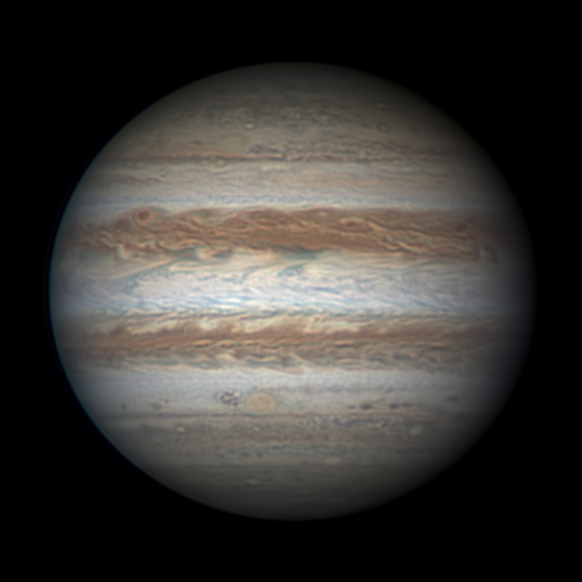 Jupiter on January 22, 2016
