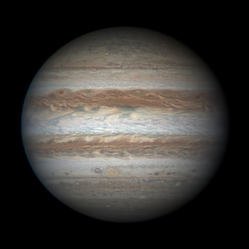 Jupiter on January 22, 2016