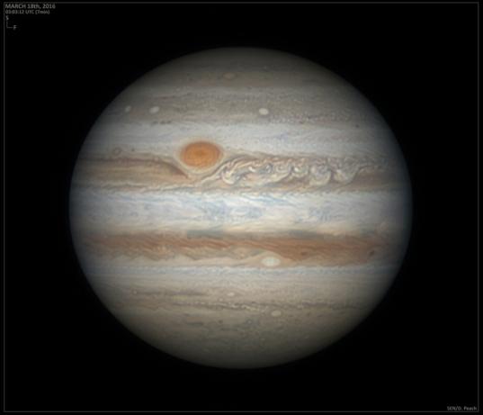 Jupiter on March 18, 2016
