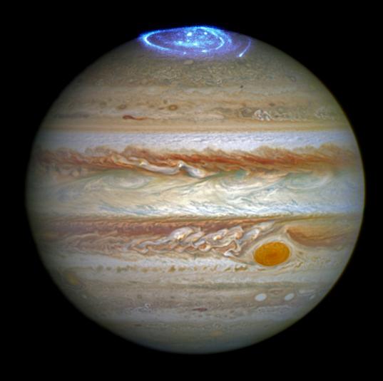 Auroras in Jupiter's Atmosphere
