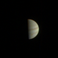 Final Juno approach image of Jupiter